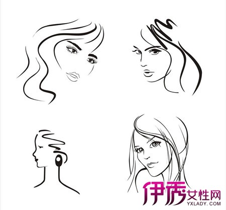 【图】头发简笔画欣赏 从3点介绍简笔画的教育作用