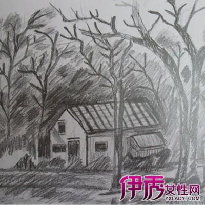 【简单房子素描图片】【图】简单房子素描图片欣赏