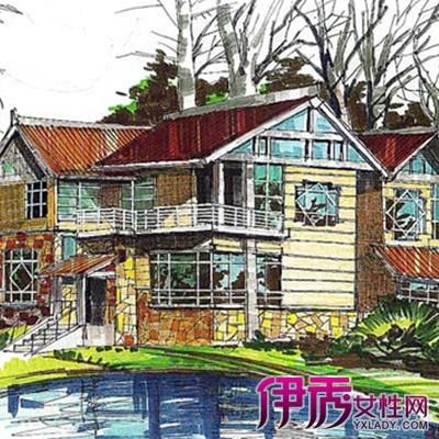 【图】别墅手绘图片大全 告诉你手绘作画的5个步骤