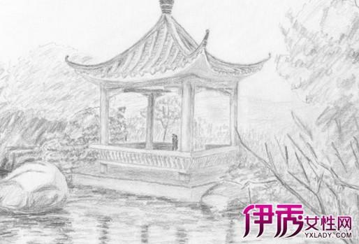 【图】手绘简单铅笔画风景图片展示 初学者如何学铅笔素描