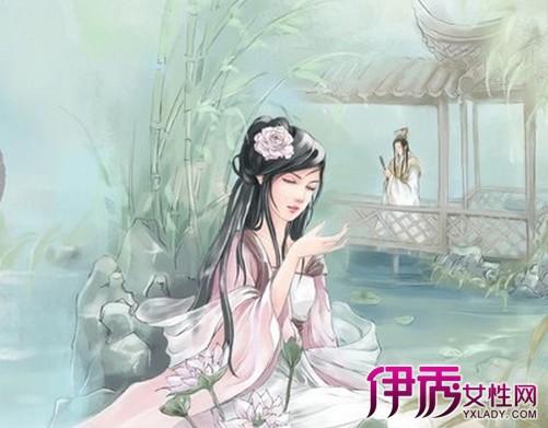 【唯美中国风手绘美女】【图】唯美中国风手绘美女