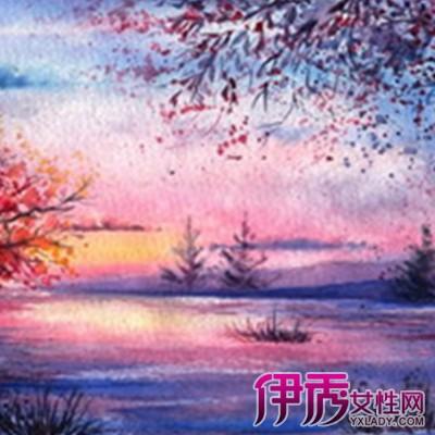 【图】欣赏好看简单风景水彩画图片