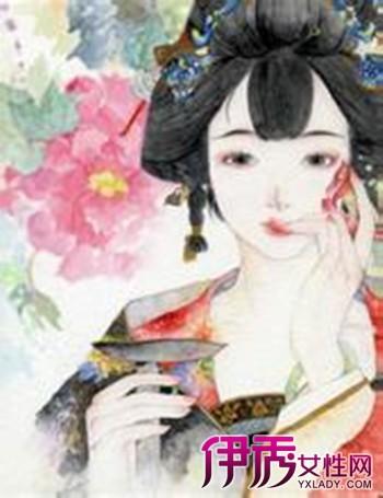 【图】欣赏古风古韵红衣手绘女 三招教你掌握绘画技巧