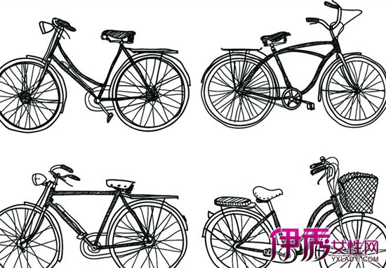 【图】16种创新自行车手绘图