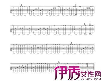 【夜的钢琴曲五吉他谱】【图】认识夜的钢琴曲五吉他图片