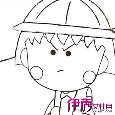 【素描卡通人物简笔画】【图】素描卡通人物简笔画