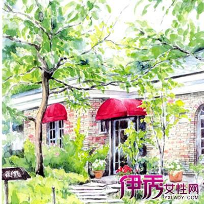 【图】日本大师风景水彩画欣赏