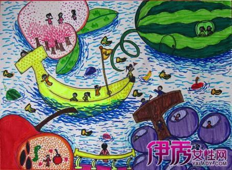 【图】儿童创意美术范画鉴赏 美术绘画技艺类别介绍