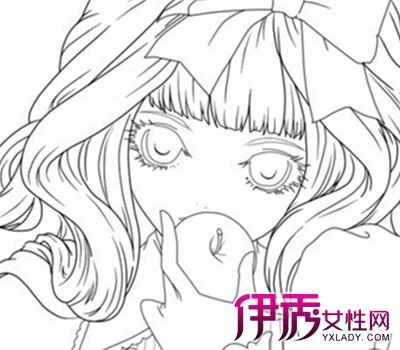 【图】绘画动漫女孩素描 7步简单绘出长发漫画少女