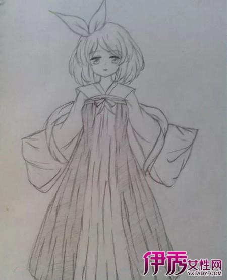 【图】素描中国风古装美女画法 二大方法教你画出古装美女