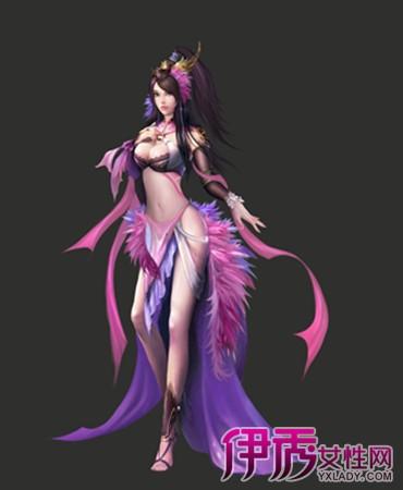 【图】手绘古装紫衣美女图片欣赏 盘点手绘的艺术价值及技巧方法