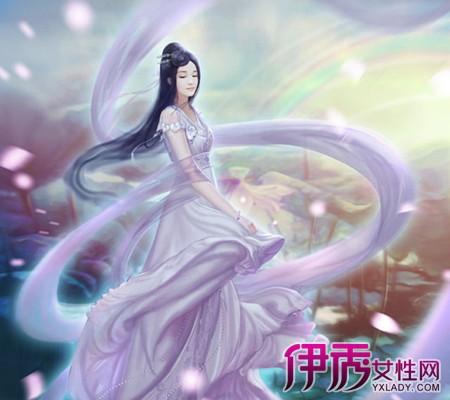 【手绘古装白衣女子舞】【图】手绘古装白衣女子舞蹈