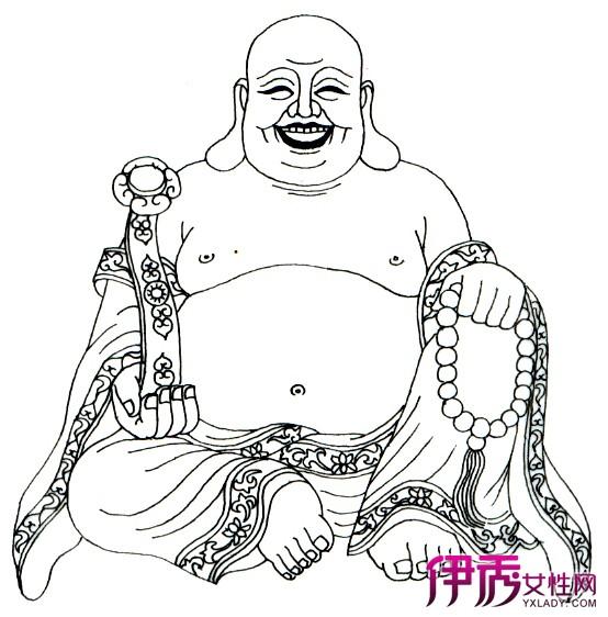介绍佛像简笔画 详解佛像历史渊源