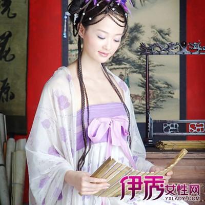 【图】古代手绘女子丹青图真人展示 真实学习经分享
