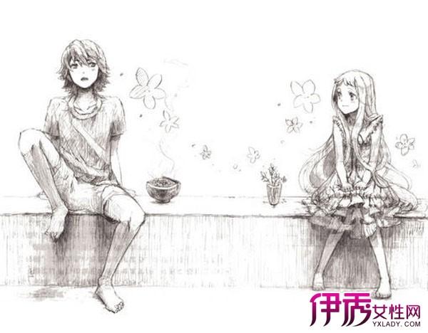 【情侣漫画图片素描】【图】情侣漫画图片素描展示