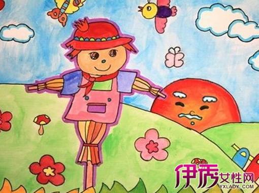 水粉画图片简单儿童版 7种画法让你学会装饰色彩