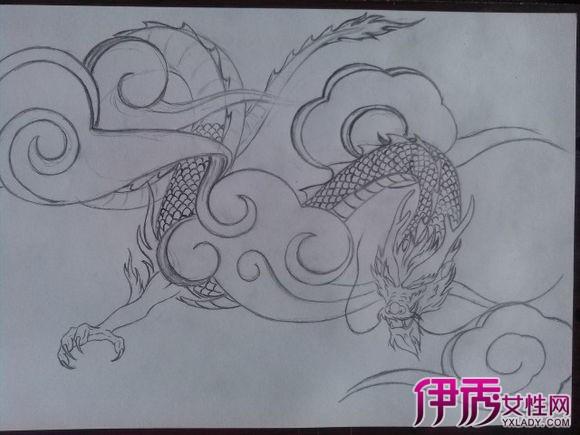 龙简笔画画法步骤图-龙的简单画法介绍 七个步骤一次解决
