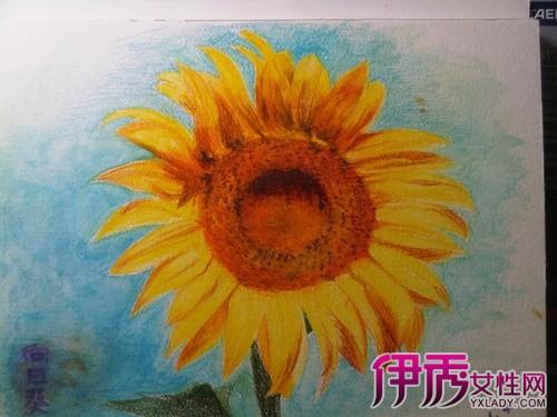 【图】如何画向日葵水粉画 简单五步助你成为大画家
