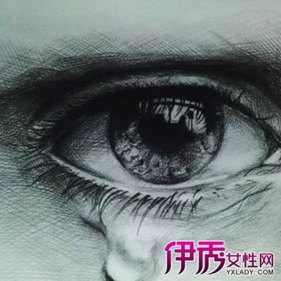 流泪的眼睛图片伤感内容流泪的眼睛图片伤感版面
