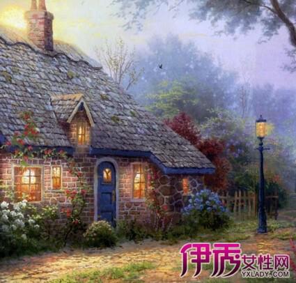 【欧式田园风景油画】【图】欧式田园风景油画怎么画