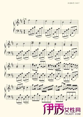 分享卡农钢琴曲谱 带你体验卡农的优美