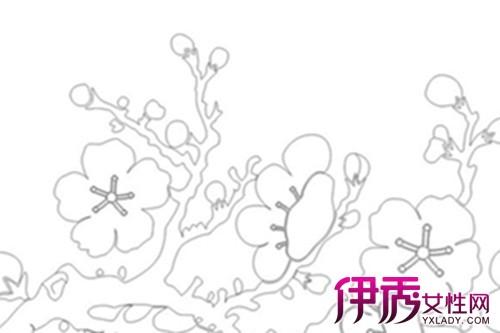 【彩铅手绘梅花简笔画】【图】彩铅手绘梅花简笔画画