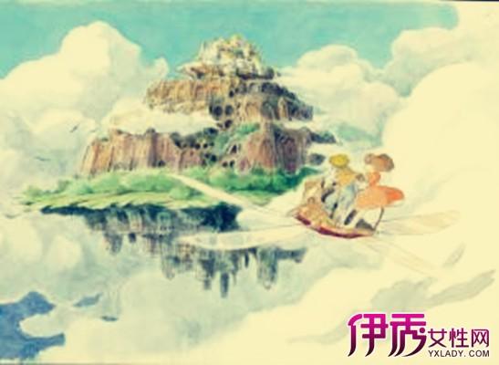 【图】天空之城简谱钢琴 让人犹如身处于蓝天中