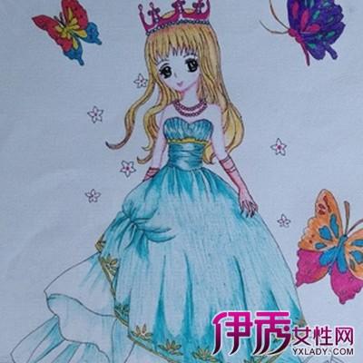 【简单公主画画图片大全】【图】欣赏简单公主画画