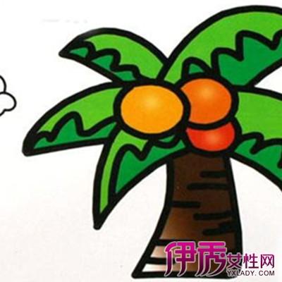 【图】植物简笔画彩色图片欣赏 3种方法助你简笔画更吸引