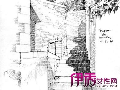 【图】阶梯公园手绘图欣赏 手绘的学前准备你知道吗