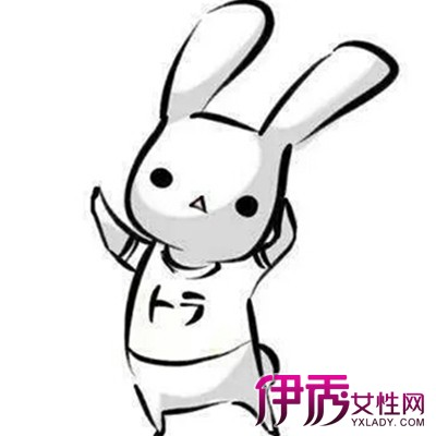 可爱兔子简笔画上色