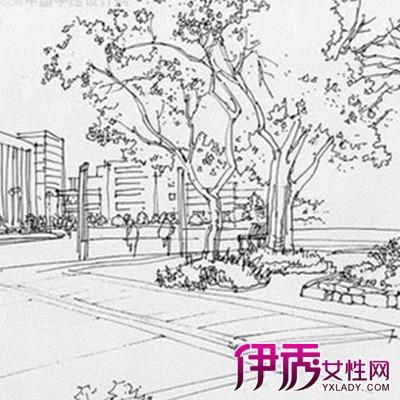 【图】欣赏现代建筑风景速写的图片 盘点速写对于绘画初学者的作用