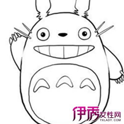 【图】龙猫卖萌手绘简笔画图片大全 ?盘点手绘的几个技巧方法