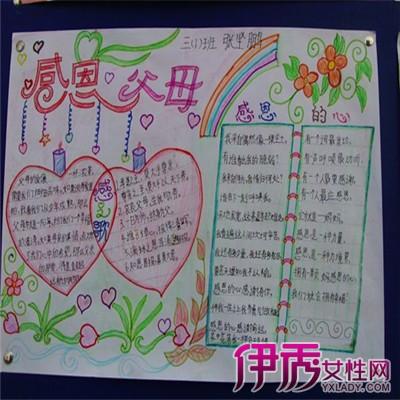 【图】欣赏感恩父母手抄报初中绘画的图片 教你快速入门手抄报