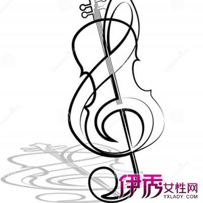 【小提琴简笔画】【图】小提琴简笔画图片赏析图片