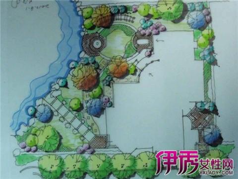 【图】园林景观手绘平面图大全 其五大设计原则大揭秘