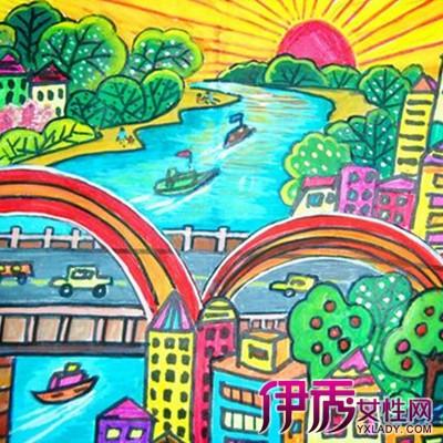 【图】小学生手抄报水彩画展示