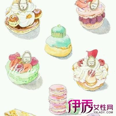 【甜品 手绘】【图】 手绘甜品的图片欣赏