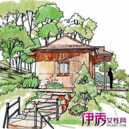 【图】园林设计手绘图欣赏 手绘的技巧和表现方法介绍