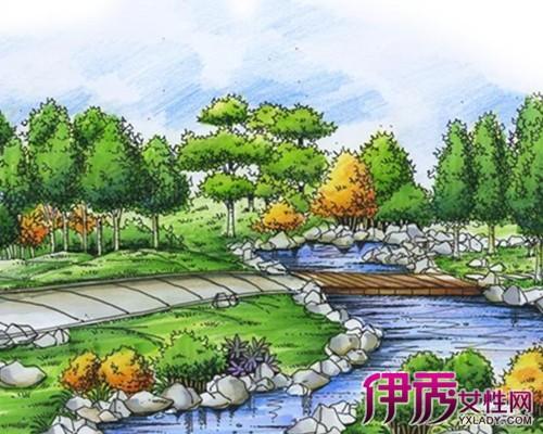 【园林景观手绘】【图】园林景观手绘图欣赏