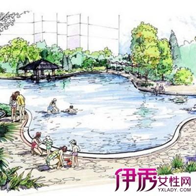 【图】景观立面手绘图展示 盘点手绘的两大设计表现
