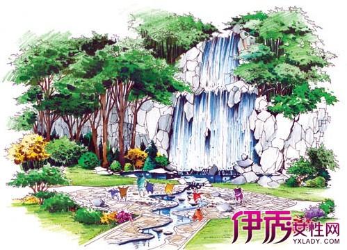 【图】手绘园林景观效果图展示 带你体验手绘的美妙之处