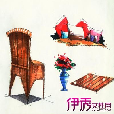 【椅子手绘】【图】现代椅子手绘图
