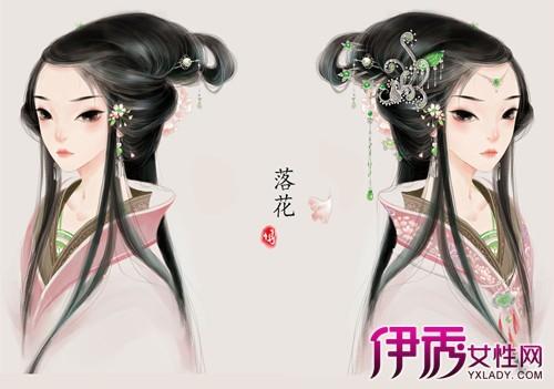 【唯美古装美女手绘图片】【图】唯美古装美女手绘图片