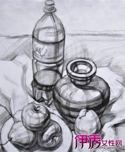 【结构静物素描】【图】结构静物素描图片欣赏