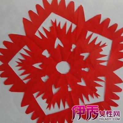 【五折剪纸图案画法】【图】传统工艺五折剪纸图案