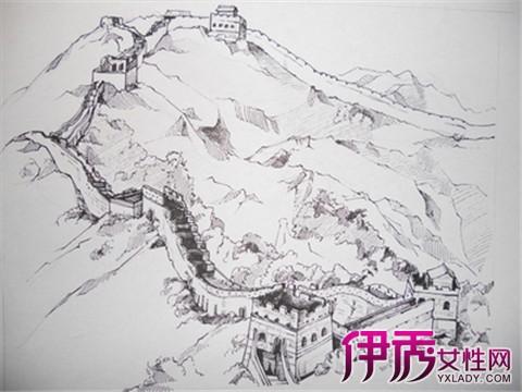 长城手绘图片大全 手绘的五大步骤分享