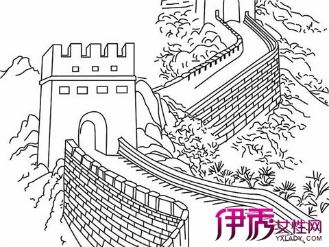 【长城手绘】【图】长城手绘图片大全