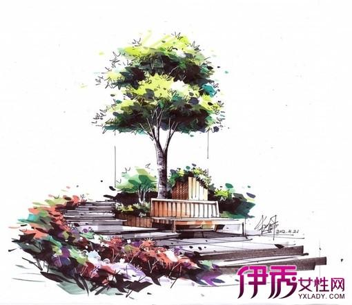 【卓越喷泉手绘效果图】【图】卓越喷泉手绘效果图