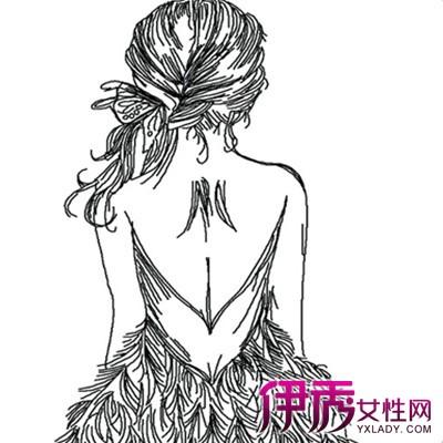 【手绘女孩背影】【图】手绘女孩背影图片大全